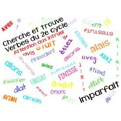 Cherche et trouve conjugaison imparfait 2e cycle