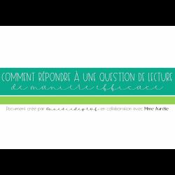 Présentation sur les types de questions en lecture