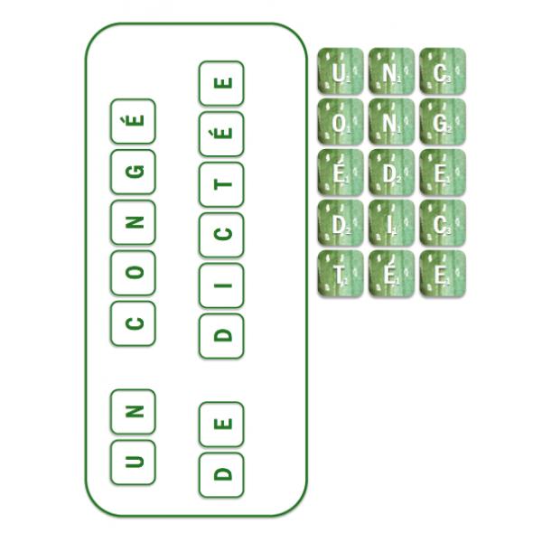 Système de motivation - Scrabble