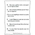 Activité sur les mots-clés (2e année)