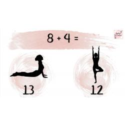 Yoga mathématique ( + et - )