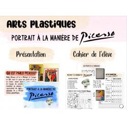 Projet d'arts plastiques - À la manière de Picasso