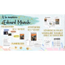 Arts - À la manière d'Edvard Munch