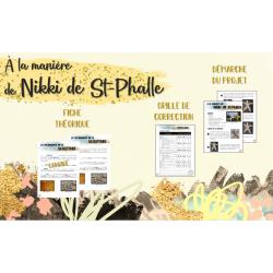 À la manière de Nikki de St-Phalle