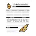 Planificateur pour enseignant (Papillons)