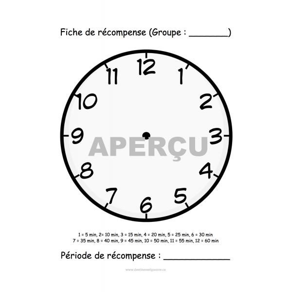 Système de renforcement (Minutes)