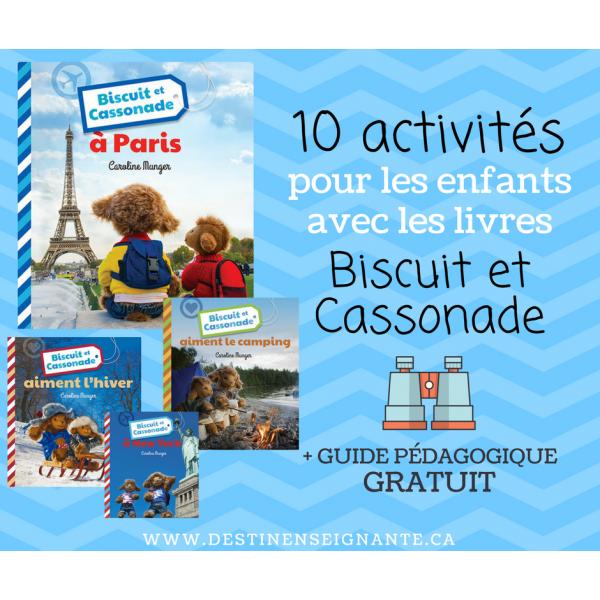Biscuit et Cassonade : 10 activités pédagogiques