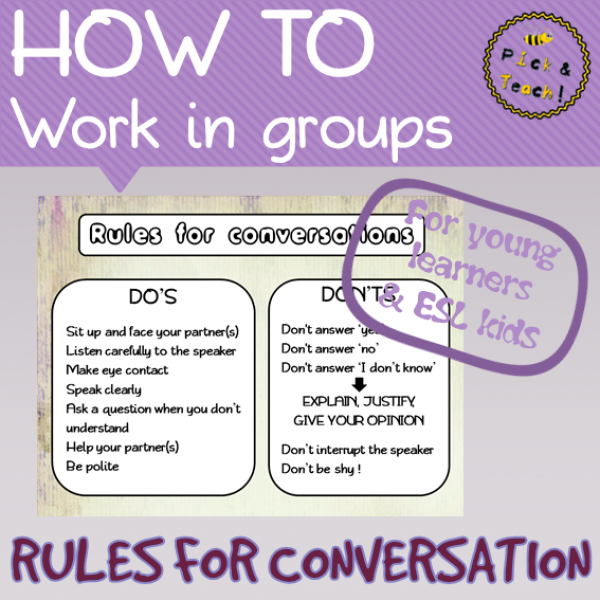 Rules for conversation
