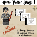 Harry Potter BINGO – ANY LANGUAGE