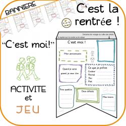 """""""C'est moi !"""" bannière – C'est la rentrée !"""
