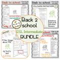 Back to school BUNDLE - ESL Intermediate