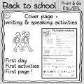 Back to school BUNDLE - ESL pre-intermediate