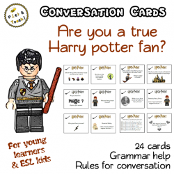 Harry Potter - Conversation cards