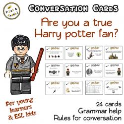Harry Potter - Conversation cards