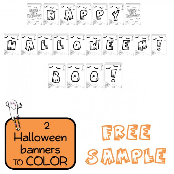 FREE - Halloween banners