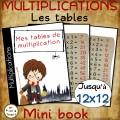 Tables de multiplication =>12- FRANCAIS/ANGLAIS