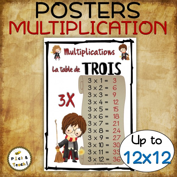 Multiplications - POSTERS >>12