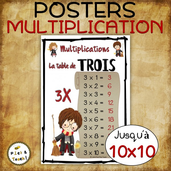Multiplications - POSTERS >>10