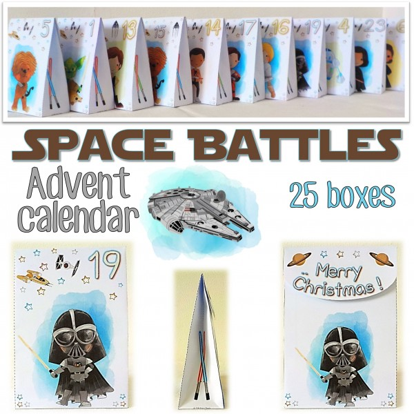 ADVENT CALENDAR for Star Wars fans