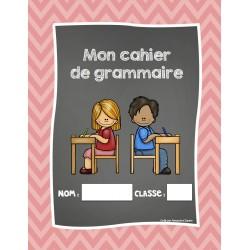Mon cahier de grammaire