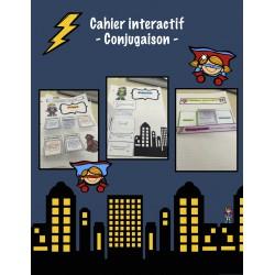 Cahier interactif - Conjugaison