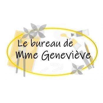 Le bureau de Mme Geneviève