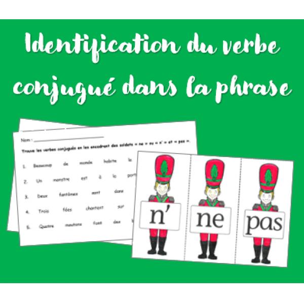Atelier sur l'identification du verbe conjugué