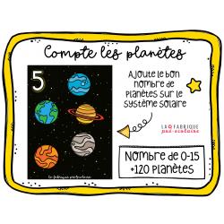 Compte les planètes
