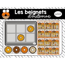 Les beignets d'automne, discrimination visuelle