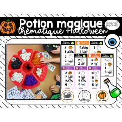 Potion magique de l'Halloween