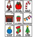 Étiquettes-mots de Noël