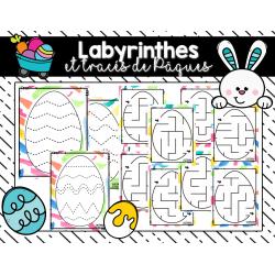 Labyrinthes et tracés de Pâques