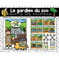 Nourris les animaux du zoo