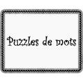 Puzzle des mots