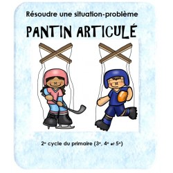 2e cycle: Situation-problème Pantin articulé