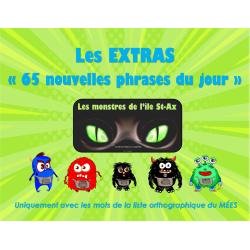 """Les EXTRAS  """"Phrases du jour"""" - 4e année"""
