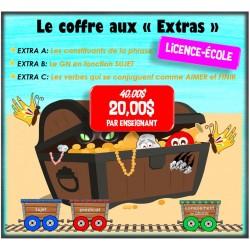 """Licence-École """"Coffre aux Extras"""""""