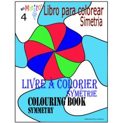Livre à colorier-symétrie rotative