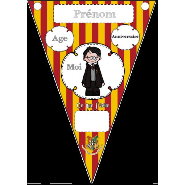 Fanions Harry Potter - C´est moi