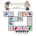 Les dominos des couleurs - 3 Niveaux