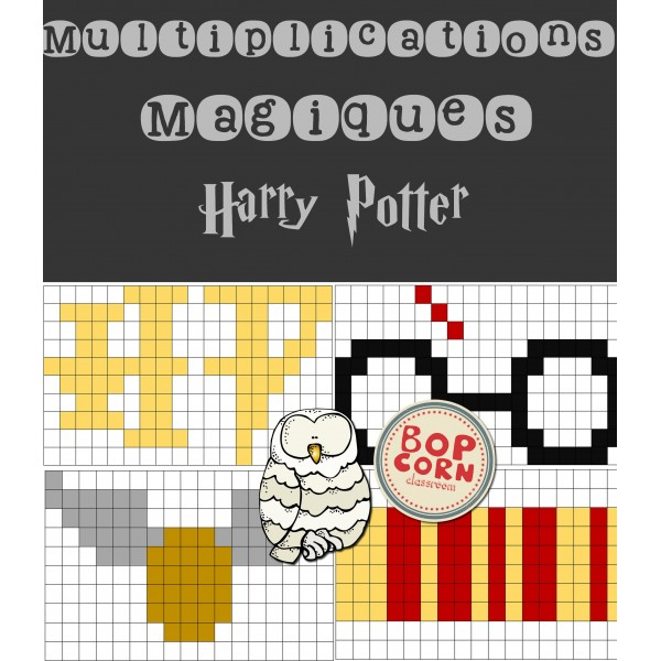 Multiplications magiques Harry Potter