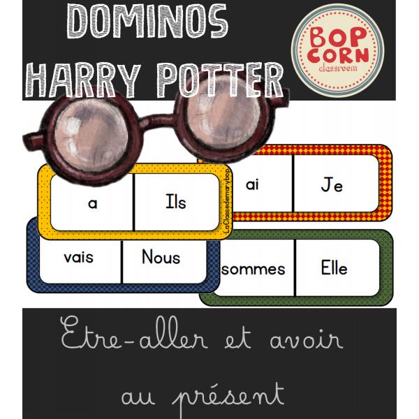 Dominos Harry Potter - Être Aller Avoir présent