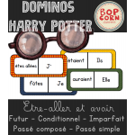 Dominos Harry Potter - Avoir Être Aller