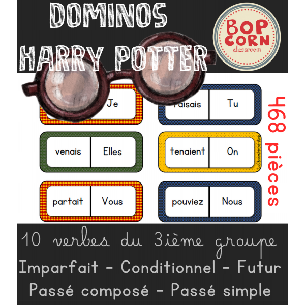 Dominos Harry Potter - 3ième groupe