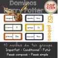 Dominos Harry Potter - Verbes 1er groupe