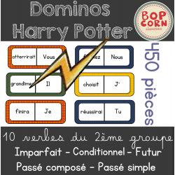 Dominos Harry Potter - verbes 2ieme groupe