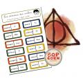 Dominos Harry Potter Conjugaison 1812 pièces