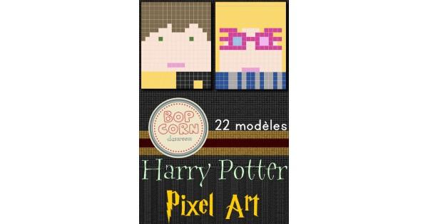 Harry Potter Pixel Art