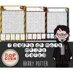Harry Potter mots mêlés Pack 2 - Les 7 tomes
