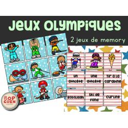 Memory des Jeux Olympiques - 2 versions